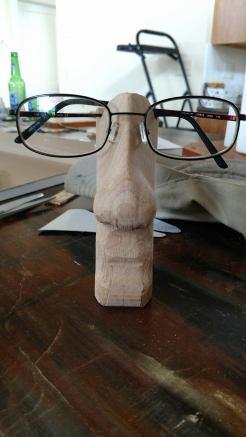 February 20th project by Eric Gaasland. Easter Eye-land glasses holders.