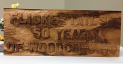 Member project - Flickertail 50th, in tigerwood